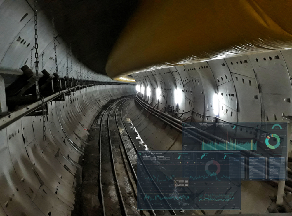 How real time TBM monitoring can improve the safety of excavations and considerably reduce the costs inherent to the construction of tunnels